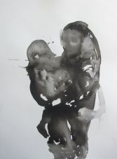 """shelter ( mother and child ) 3, 15""""x11"""""""