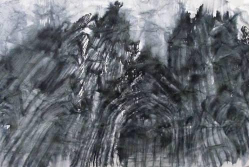 """dissolution of contours (cologne) 7""""x11"""""""