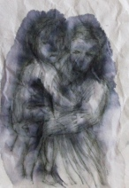 """mother and child 4""""x6"""""""