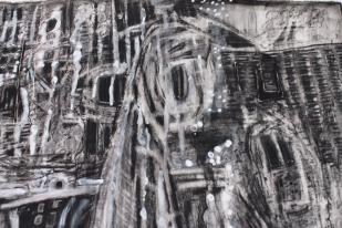 """""""scarcely a trace of pain"""" ( detail - see """"Ruins"""" page for more )"""