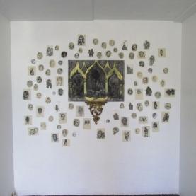 the grotto- altar piece