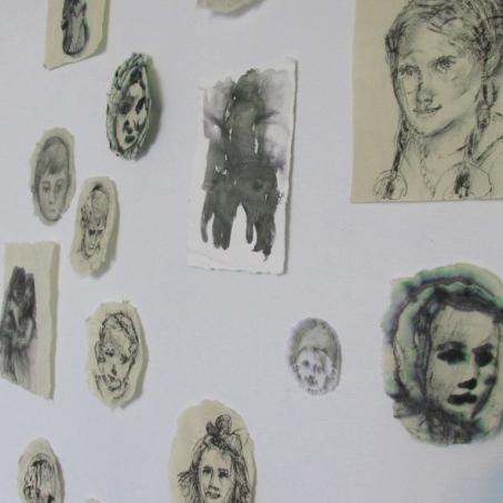 tiny portraits- the grotto altarpiece