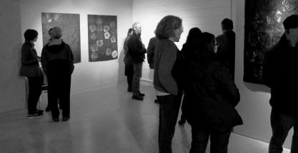 at the opening of History As Personal Memory
