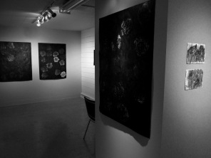 """""""White Rose"""", """"Solf Circle"""" and """"Red Orchestra"""" with two pieces from the Ruins series."""