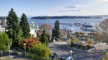 Nanaimo waterfront a few steps away from the conference at St Paul Anglican Church